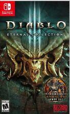 Diablo III: Eternal Collection US English/Japanese etc sub Nintendo Switch NEW