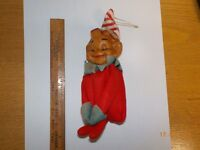 Vintage Elf Boy Christmas Ornament