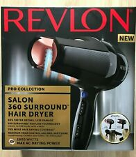 Revlon Pro Collection Salon 360 Surround AC Hair Dryer, 1800 W - New