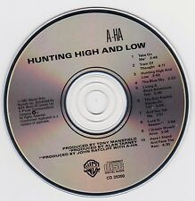 a-ha - Hunting High and Low (CD, 1985, Warner Bros) Pop Rock, Synth-pop