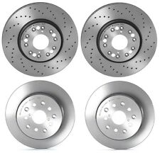 Brembo Front Rear Coated Brake Disc Rotors Kit for Lexus GS300 GS400 GS430 IS300