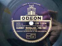 '27 Jazz 78 FRANKIE TRUMBAUER Orch w BIX – Clarinet Marmalade / ELLINGTON *HEAR