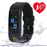 Fitness Smart Watch Activity Tracker WomenMen Kid Fit bit Android iOS Heart Rate