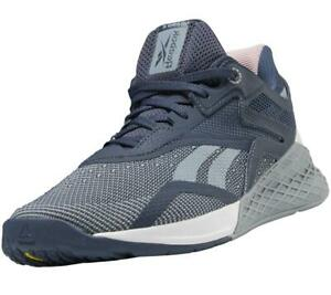 Reebok Women's Nano X Crossfit Gym Fitness Workout Trainers Shoes Sneakers Grey