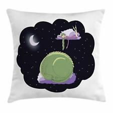 Nursery Throw Pillow Cases Cushion Covers by Ambesonne Home Accent Decor 8 Sizes