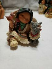 """Vintage 1999 Friends of the Feather """"Natural Harmony"""" Shelf Sitter Figurine"""