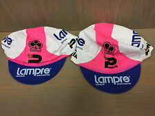 Genuine Classic LAMPRE COLNAGO Cycling cap, Italian Made