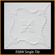 Ceiling Tiles Glue Up Styrofoam 20x20 R38 White lot of 100 pcs 270 sq ft