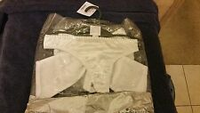 Ann Summers Gift Wrapped Satin Bow White Thong Size Large 16 - 18 New In Packet