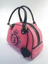 Juicy Couture Pink Velour Satchel Bowler Bag ``