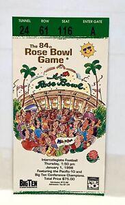 1998 ROSE BOWL GAME TICKET STUB WASHINGTON STATE vs MICHIGAN WOLVERINES