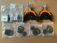 Normark 3 Pin Cross Country Ski Bindings 75mm + Spare Troll Parts