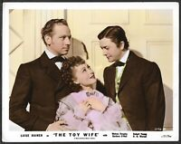 Luise Rainer Robert Young Vintage Original 1930s Color Promo Photo Toy Wife