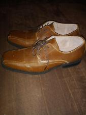 mens J Ferrar dress shoes, size 8M brown