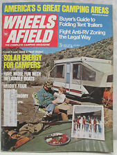 Wheels Afield The Complete Camping Magazine May 1974 Folding Tent Trailers Guide