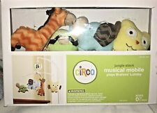 new! Circo Target Musical Mobile Jungle Animals baby bed nursery decor toy