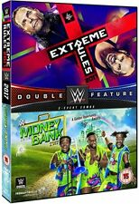 WWE - Extreme Rules 2017/Money In The Bank 2017 (12) 2 Disc Brand New Sealed