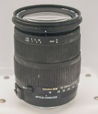 Works but *READ* Sigma 18-200mm F3.5-6.3 DC OS Canon EF Camera Mount Zoom Lens