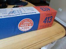 New Genuine Aprilaire 413 Merv 13 Filter Media Replacement