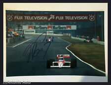 Alain Prost SIGNED autograph 12x8 photo McLaren, Formula 1 Japanese GP 1989