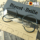 Wehrmacht WH Dienst Brille German Army Military 3.Reich Service Glasses WW2 WK2