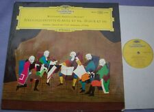 138 057 MOZART String Quintets AMADEUS QUARTET DG Germany Stereo LP