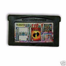 【 110 in 1 】Nintendo Game Boy Advance SP  Handheld System Cartridges