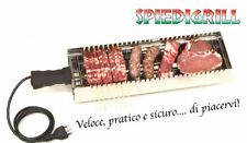 CBE Elettrodomestici 9010100SS Bistecchiera Elettrica, 1800 Watt, Acciaio