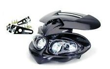 Tete de Fourche MANGA Plaque Phare universel Noir Moto enduro XP6 Derbi NEUF