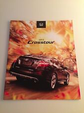2013 Honda Crosstour 16-page Original Sales Brochure