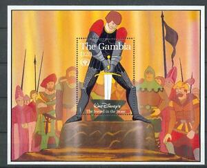 Walt Disney Gambia Feuille 107 (MNH)