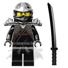 LEGO NINJAGO 9449 COLE ZX  Minifigure With Weapon NEW D34