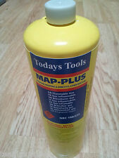 Mapp Yellow Disposable Gas Cylinder Bottle 450g For Plumbers Torch MAPPGAS x12