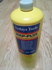 Botella de cilindro de gas Mapp Amarillo desechables 450g Para Plomeros antorcha mappgas x12