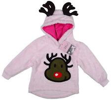 Vêtements rose à capuche pour fille de 2 à 16 ans