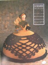 Annie's Attic Fashion Bed Doll Miss November Crochet Pattern 1991 Antebellum