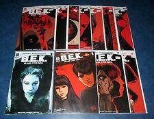B.E.K. BLACK EYED KIDS 1 variant 1 2 3 4 5 6 7 8 9 10 AFTERSHOCK 1st print set