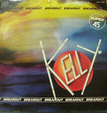 KELLY-BREAKOUT MAXI SINGLE VINILO 1984 (12 INCH) SPAIN EXCELLENT COVER CONDITION