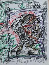 Jean Paul Riopelle Original Lithograph Derriere Le Miroir First Edition 1976