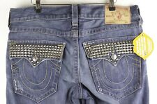 Mens TRUE RELIGION Jeans STRAIGHT Fit SECTION RICKY W34 L34 EXCELLENT P42