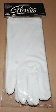Halloween Adult White Costume Gloves Up To Size 10 Fun World 117L
