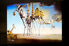 (LAMINATED) SALVADOR DALI - THE TEMPTATION OF ST. ANTHONY POSTER (61x91cm)  NEW