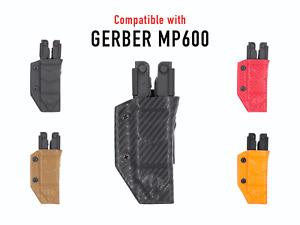Clip & Carry Kydex Multitool Sheath - For the Gerber MP600 - USA Made