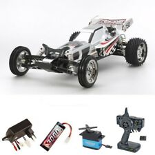 Tamiya racing Fighter Chrome (dt-03) 1:10 2wd Buggy kit completo #300047347set