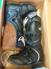 Motorcross motorbike boots berik size UK 10 45  black