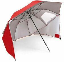 Sport-Brella All-Weather 8-Foot Umbrella Canopy Shelter, Red