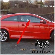 Deflettori Aria Antiturbo Oscurati Opel Astra H GTC 2004-2012 3 porte 3p