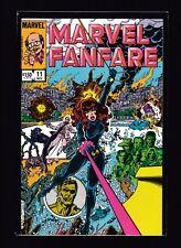 Marvel Fanfare #11 (NM) - 1st appearance of Iron Maiden - Black Widow - Avengers