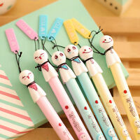 Cute Teru Teru Bozu Black Gel Ink Pen Student Office Stationary Gifts.UKs Y0Q0