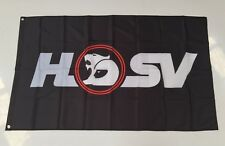 HSV Holden Style 3 Banner Flag - Car Clubsport Maloo Commodore Workshop Man Cave